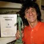Ronnie Wood, guitar player of Rolling St