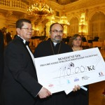 From left: Miro Smolák,MIRO: Auctioneer, Founder and main organizer of the Trebbia Foundation, Chairman of Trebbia INC (Czech Republic), Director, MIRO Gallery, Prague and Mgr. Eugen Bakoš, Pastor, Christian Civic Association Tachov