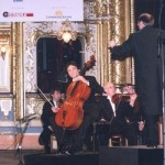 (From left) Jiří Bárta, cellist and L