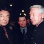 (From left) Karel Gott, singer, PhDr. Mg