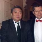 (From left) Ochir Enkhtur, Ambasador of
